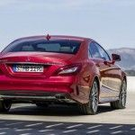 Mercedes CLS 2015 - Trasera