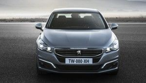 Peugeot 508 - Frontal