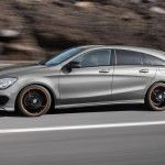 Mercedes-Benz CLA 45 AMG Shooting Brake - Lateral