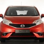 Frontal del Nissan Note