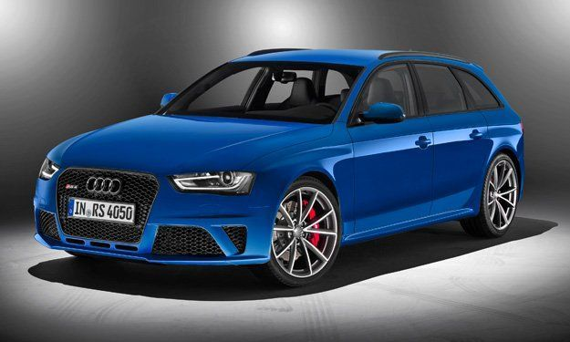 Frontal Audi RS 4 Avant Nogaro selection