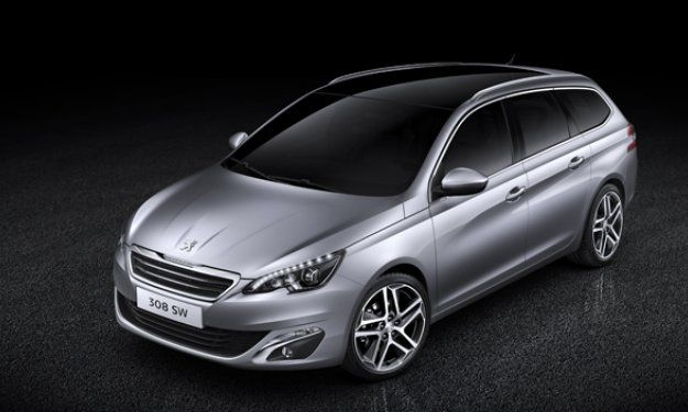 Frontal Peugeot 308 SW 2014