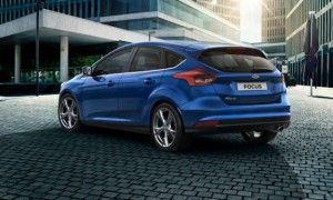 Trasera Ford Focus 2014