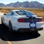Ford Mustang Shelby GT350 - Trasera